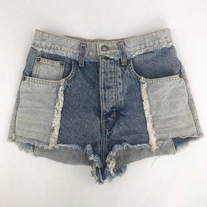 My Carmar Patch Jean Shorts